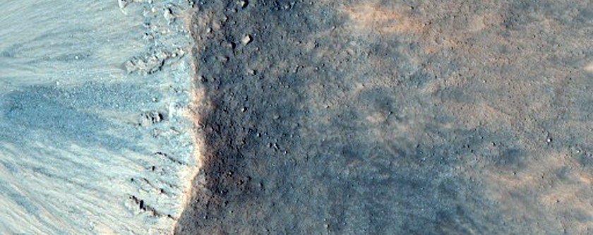 Winslow Crater: A Not-So-Fresh, Fresh Crater