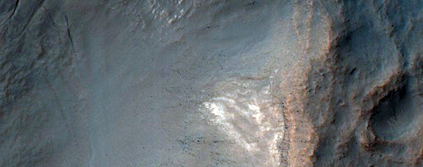 Crater Gully Morphology