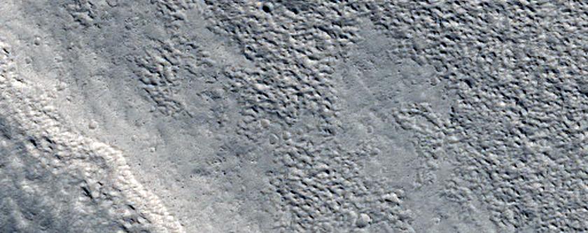 Valleys and Grabens in Northwest Alba Patera