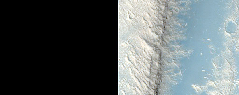 Evolution of Surface Near the Granicus and Tinjar Valles