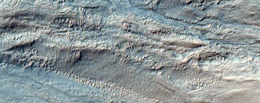 Gullies in Palikir Crater