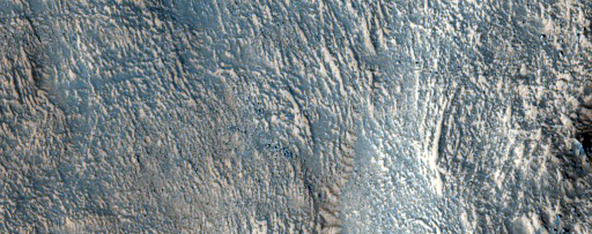 Tomini Crater Western Ejecta