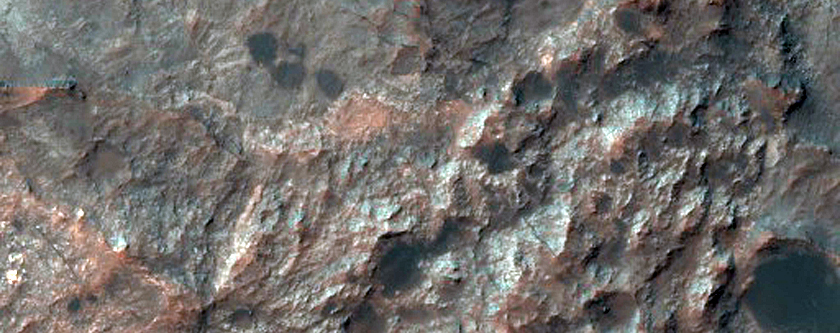 Ritchey Crater - Potential MSL Landing Site