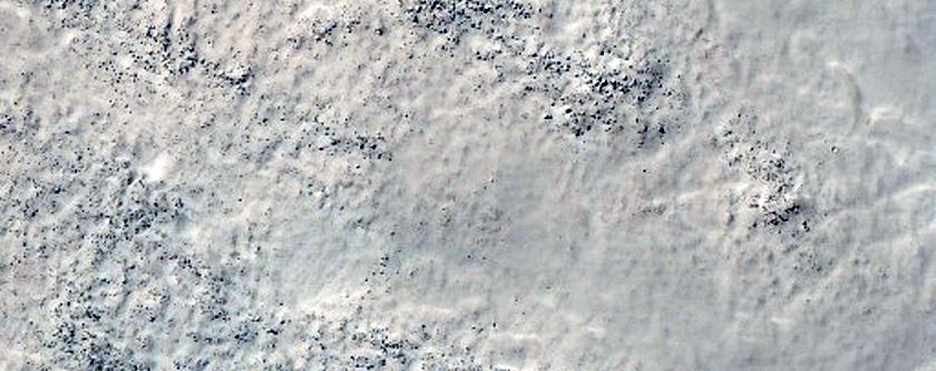 Center of Soviet Mars 3 Landing Ellipse