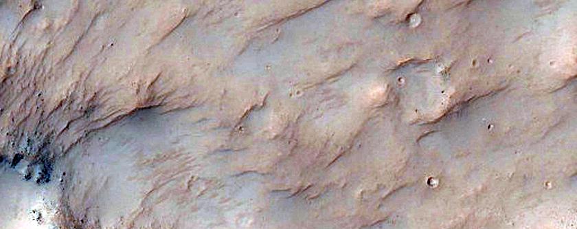 Crater Floor Material