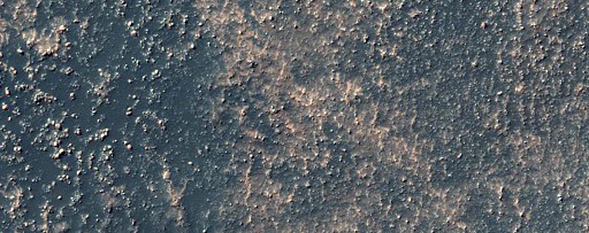 Hellespontus-Noachis Region Intracrater Deposit