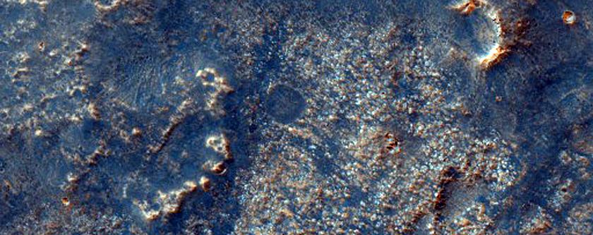 Lava Flow in Sinai Planum