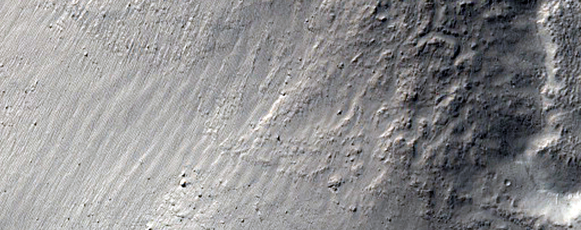 Mantled Craters in Terra Cimmeria