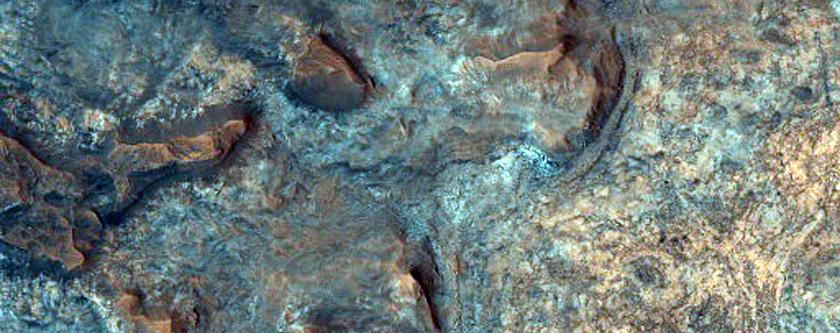 Clays in Mawrth Vallis