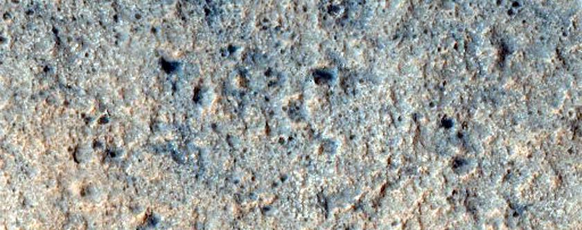 Libya Montes Phyllosilicate Stratigraphy
