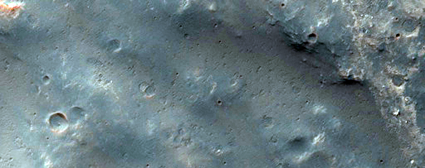 Unnamed Crater Southeast of Herschel Crater - Potential Hydrated Material