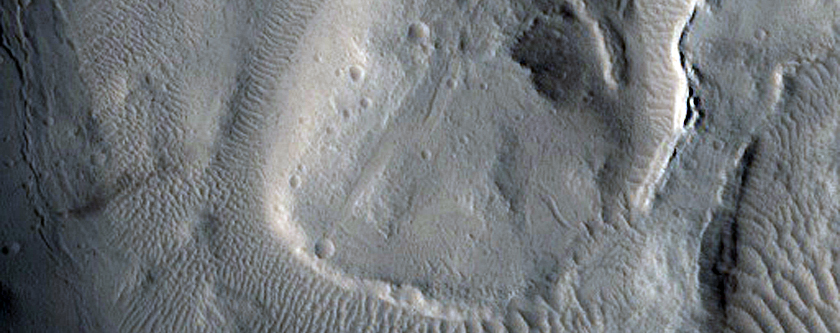 Slope Streaks Which Originate at Dark Lineation