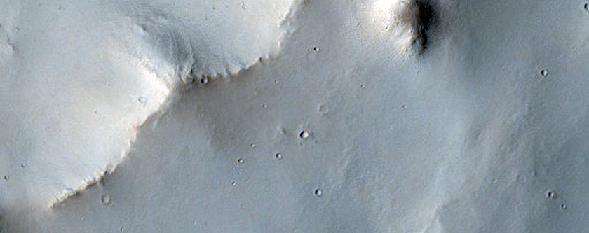 Northeast Extent of Scamander Vallis