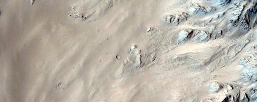 Well-Preserved 40-Kilometer Diameter Unnamed Crater Near Tartarus Region