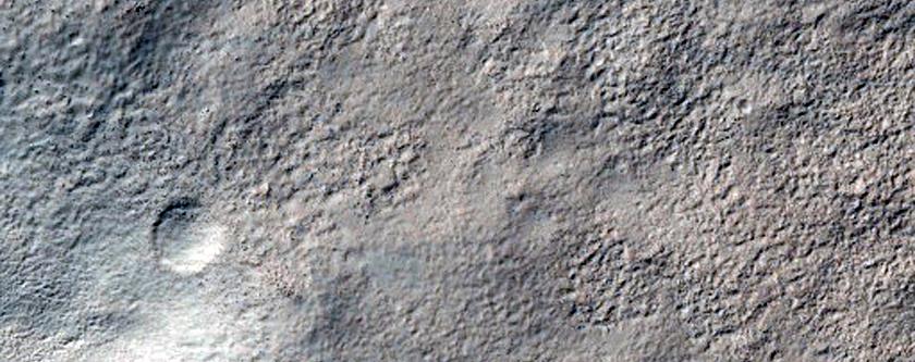 Reull Vallis Layered Terrain