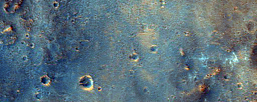 Mawrth Vallis Outcrops