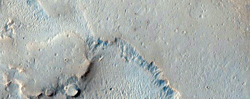 Central Meridiani Planum Etched and Dusty Plains