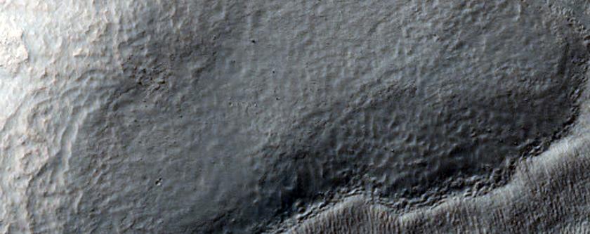 Wall of Harmakhis Vallis