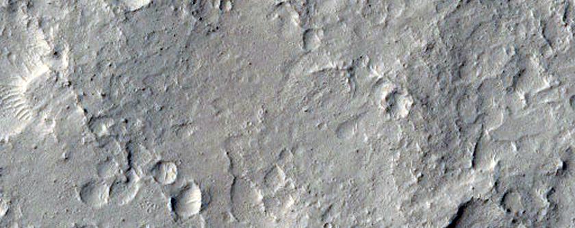 Pedestal Crater in Zephyria Planum