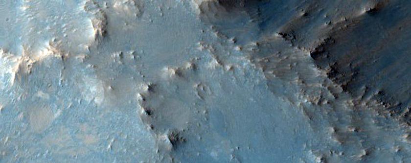 Syrtis Major Crater Rim