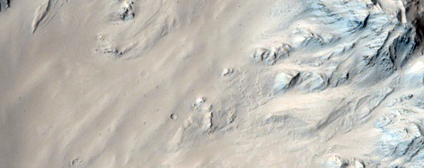 Well-Preserved 40-Kilometer Diameter Unnamed Crater Near Tartarus Region
