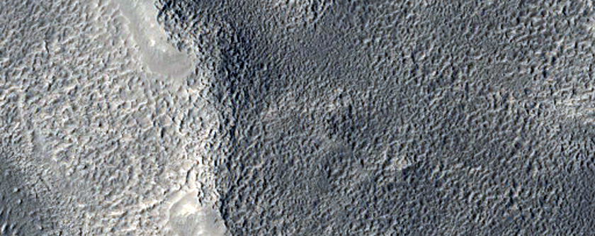 Deltaic Deposits in Flood Channel