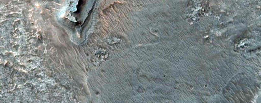 Dark Barchan Dunes and Outlier Dunes in Gale Crater