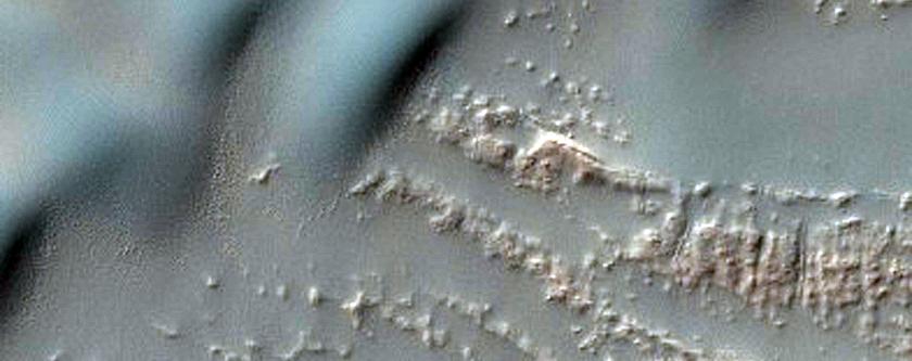 Dune Source in Newton Crater