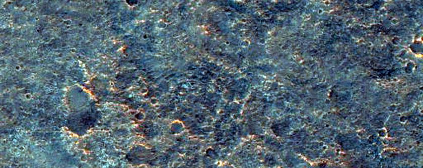 Proposed MSL Landing Site in Mawrth Vallis - Ellipse 1