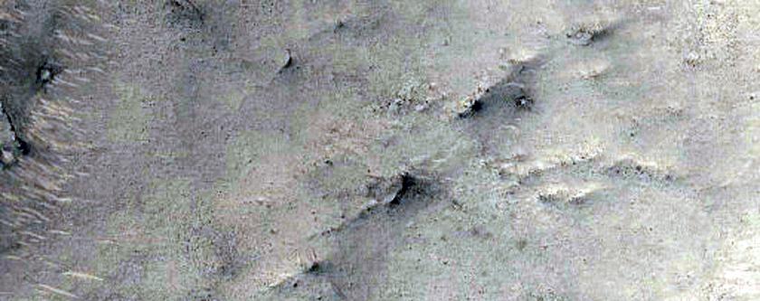 Jointed Rocks Near Nilosyrtis Mensae