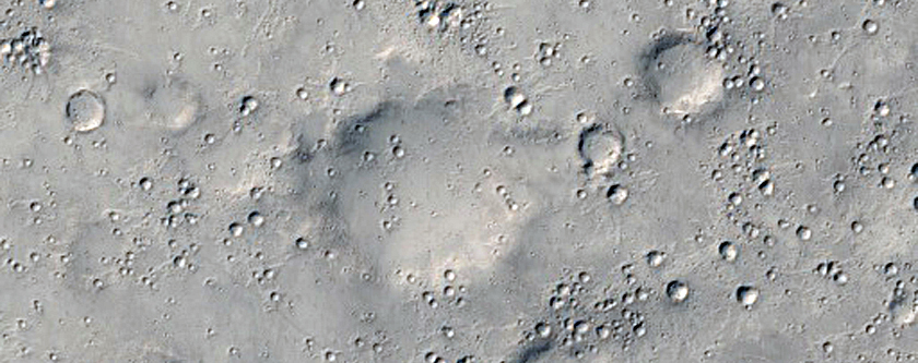 Segment of a Crater Ray