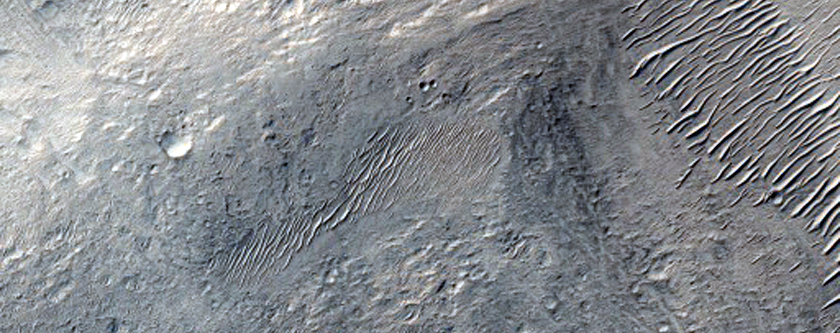 Fan or Lobe at End of Valley Seen in THEMIS Image V02023006