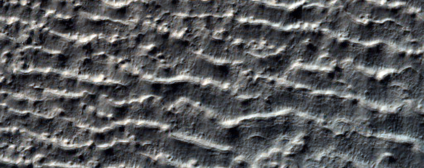 Crater with Gullies