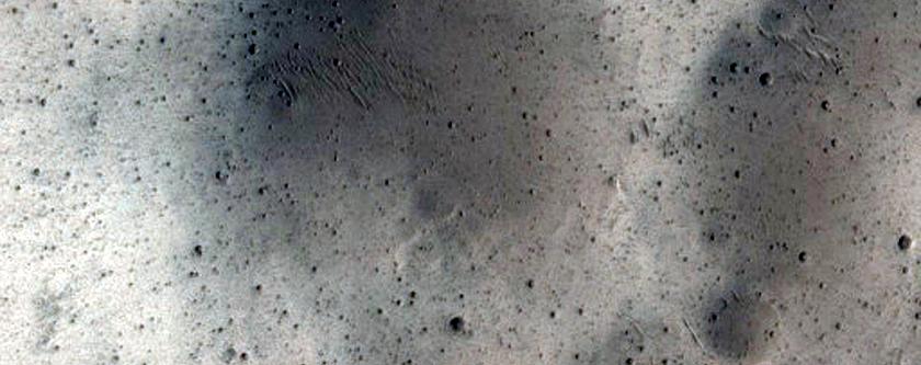Terrain West of CTX Image