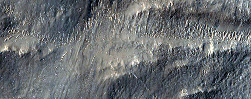 Pettit Crater Dark Wind Streak