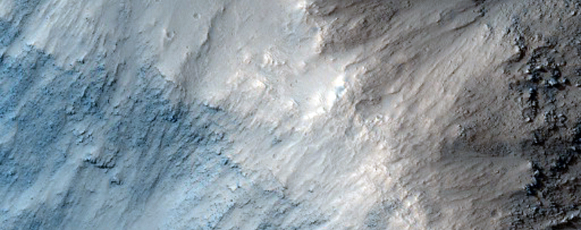 North Wall of Shalbatana Vallis