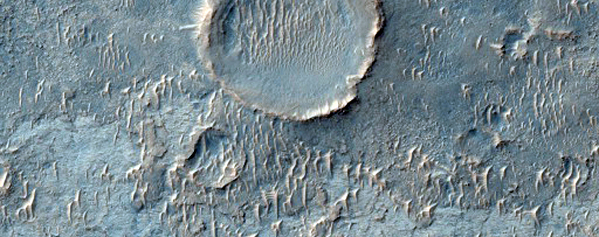 Putative Salt Deposits Detected by THEMIS West of Meridiani Region
