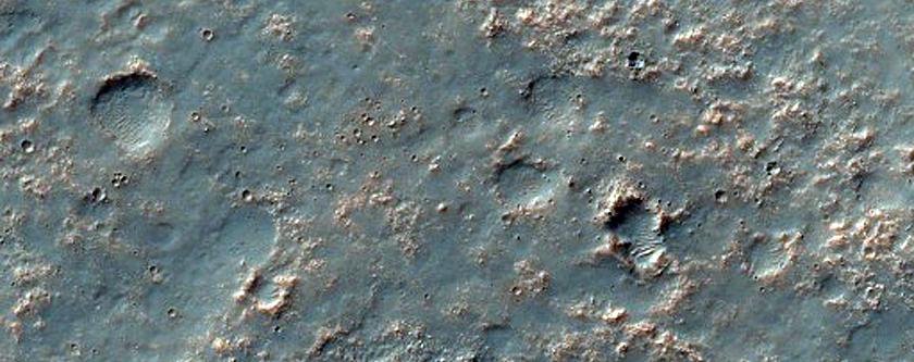Ridge in Northern Solis Planum