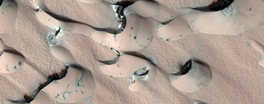 Polar Sand Dunes