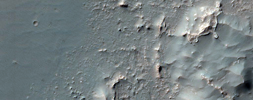 Characterize Surface Hazards and Science of MSL Rover Landing Site