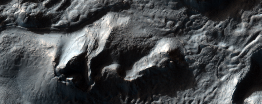 Fretted Terrain Valleys-Massif Contact