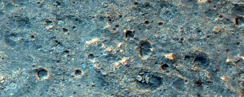 Proposed MSL Landing Site in Mawrth Vallis - Ellipse 4