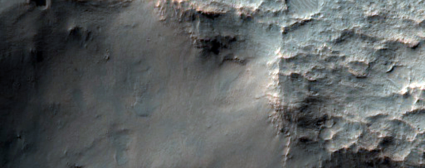 Relation of Gullies and Large Ripples in MOC Images R08-02377 and E16-01912