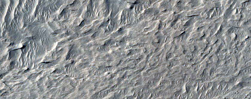 Pedestal Crater Margin