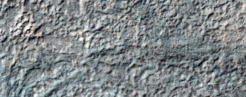 Possible Hellas Basin Lacustrine Contact