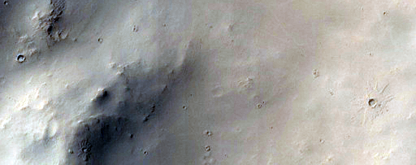 Pedestal Craters in Arabia Terra
