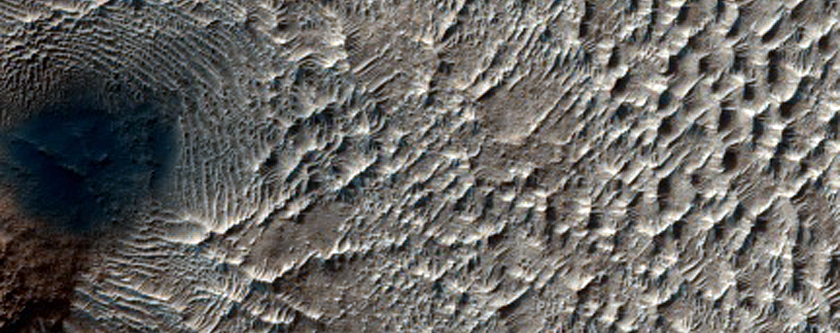 Complex Terrain on Hellas Basin Floor