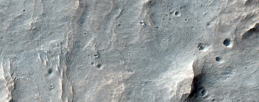 Sulfates and Valley System in Melas Chasma Basin
