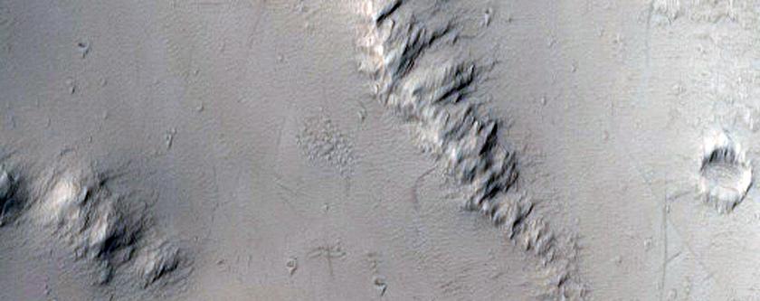 North Rim of Ophir Chasma