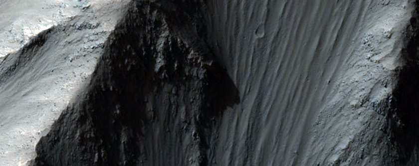 North Wall of Coprates Chasma